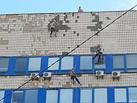Обследование фасадов зданий, демонтаж и ремонт аварийных участков