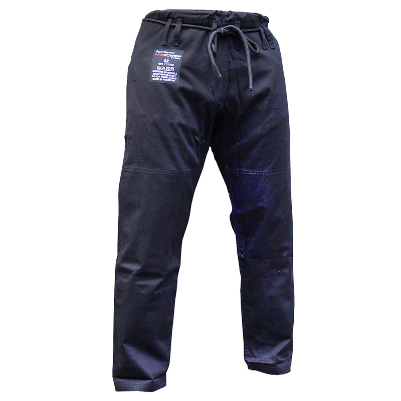 Штаны для кимоно FIREPOWER New 3.0 Cotton 9oz Black