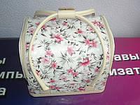 Бьюти-кейс. сумка для мастеров индустрии красоты  сцветным принтом