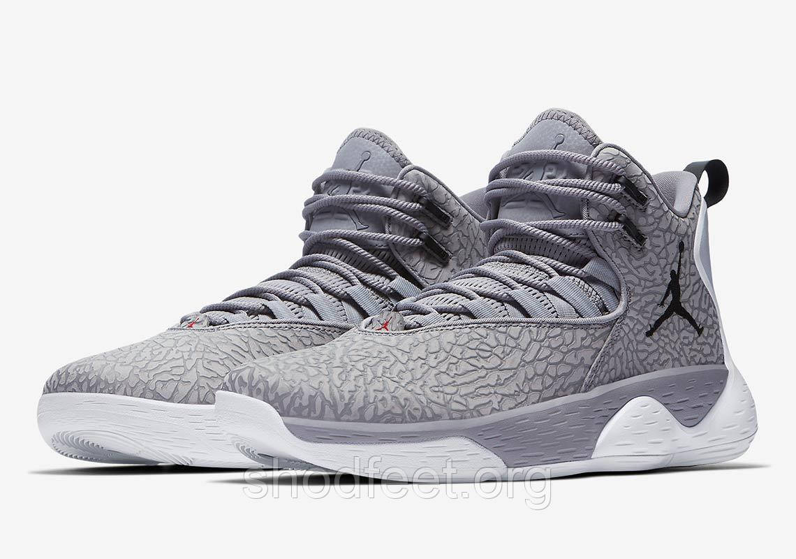 "Кроссовки Air Jordan Super.Fly MVP L ""Cement Grey"""
