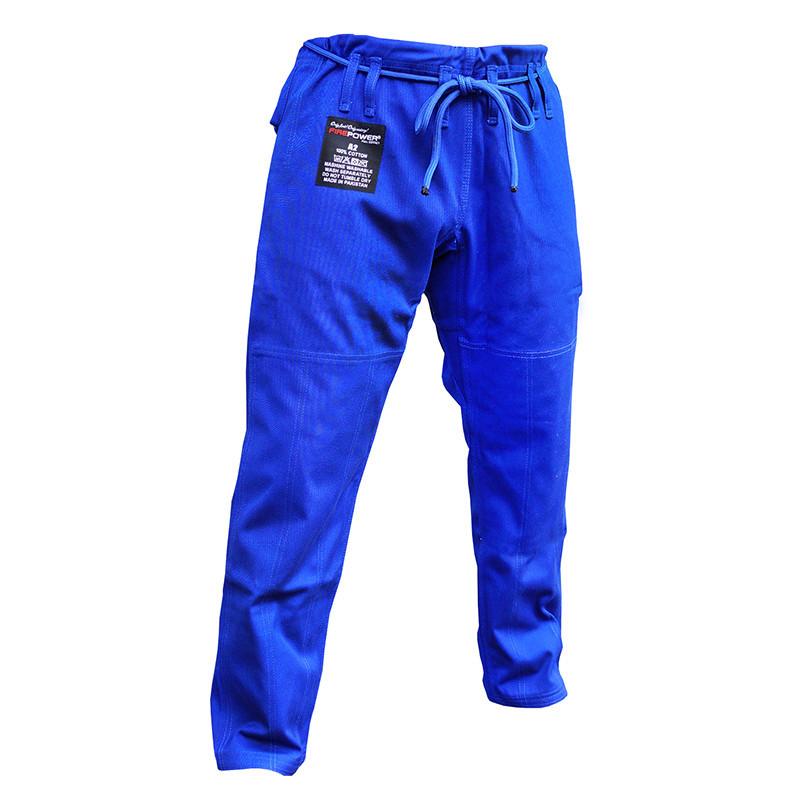 Штаны для кимоно FIREPOWER New 3.0 Cotton 12oz Blue