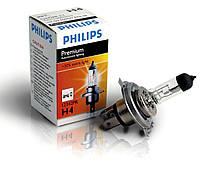 """Автомобильная галогеновая лампа """"PHILIPS"""" (H4)(Premium)(+30%), фото 1"""