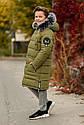 Зимнее теплое пальто на мальчика zkm-4 размеры 134- 164, фото 4