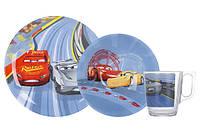 Детский набор посуды LUMINARC DISNEY CARS 3, 3 предмета