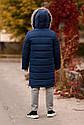 Зимнее теплое пальто на мальчика zkm-4 размеры 134- 164, фото 2
