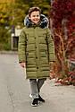 Зимнее теплое пальто на мальчика zkm-4 размеры 134- 164, фото 5