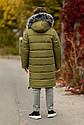 Зимнее теплое пальто на мальчика zkm-4 размеры 134- 164, фото 7