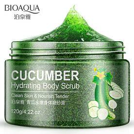 Скраб для тела с экстрактом огурца BIOAQUA Body Scrub Cucumber (120г)