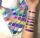 Тени для глаз CLEOF Cosmetics The Mermaid Glitter Palette (32 цвета), фото 2