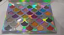 Тени для глаз CLEOF Cosmetics The Mermaid Glitter Palette (32 цвета), фото 4