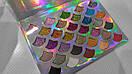 Тени для глаз CLEOF Cosmetics The Mermaid Glitter Palette (32 цвета), фото 5