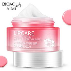 Ночная маска для губ увлажнение и восстановление BIOAQUA Lip Sleeping Mask (20г)