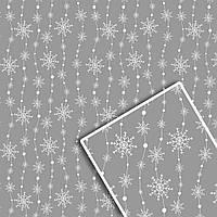 Новогодняя подарочная упаковочная бумага №УП-518