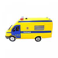 Автомодель - Газель полиция (CT-1276-17PU), фото 1