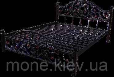 Кровать металлическая Karmen 1400*1900/2000мм, фото 2