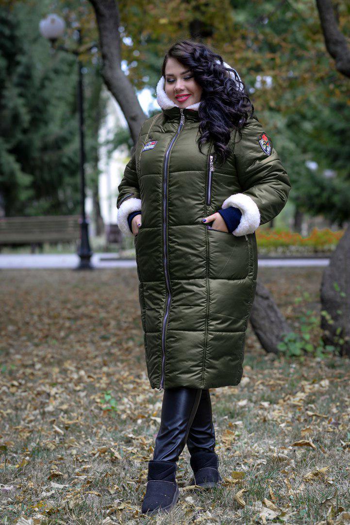 d0db917d873 Зимнее пальто Дуэт батал+  O V - Я в шоке!™ -
