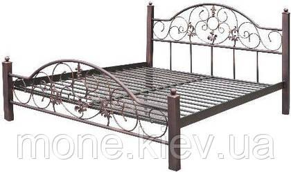 Кровать металлическая Scarlett 1200*1900/2000мм, фото 3