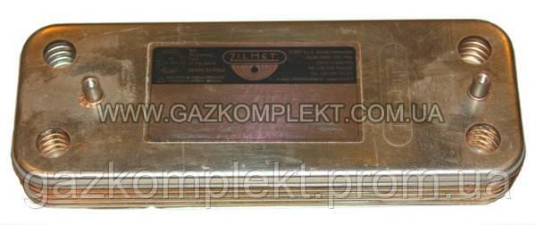 Теплообменник вторичный BAXI / WESTEN (Бакси / Вестен) 12 пластин 17B2071200 (5686660)