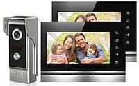 Домофон V70K-M4, Видеодомофон, Домофон с видеосвязью, Видеодомофон с цветным экраном, Видеозвонок с камерой, фото 1