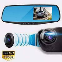 """Зеркало видеорегистратор 1433 (4,3"""") - 2 камеры, Зеркало заднего вида с видеорегистратором, Регистратор в авто, фото 1"""