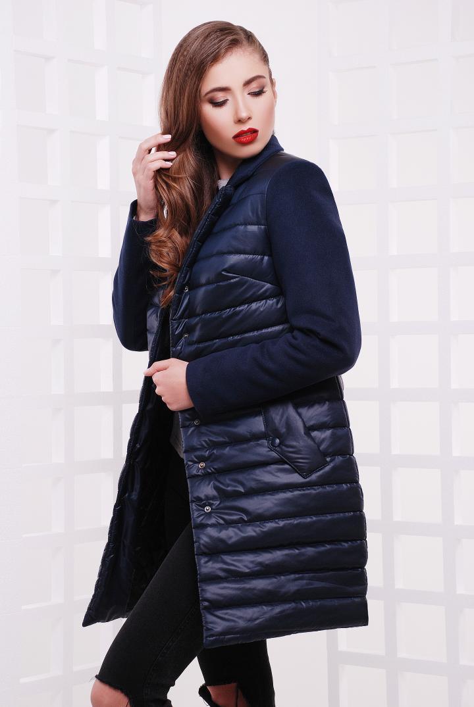 6612a4c23c0 Куртка удлиненная стеганная