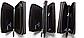 Чоловічий гаманець чорний клатч на блискавках код 254, фото 5