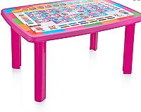 Стол детский с декором 70*100*51 см, Irak Plastik, Турция