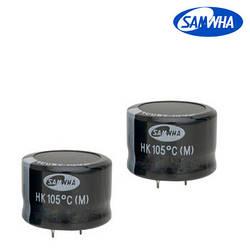 150mkf - 400v  HK 30*25  SAMWHA, 105°C