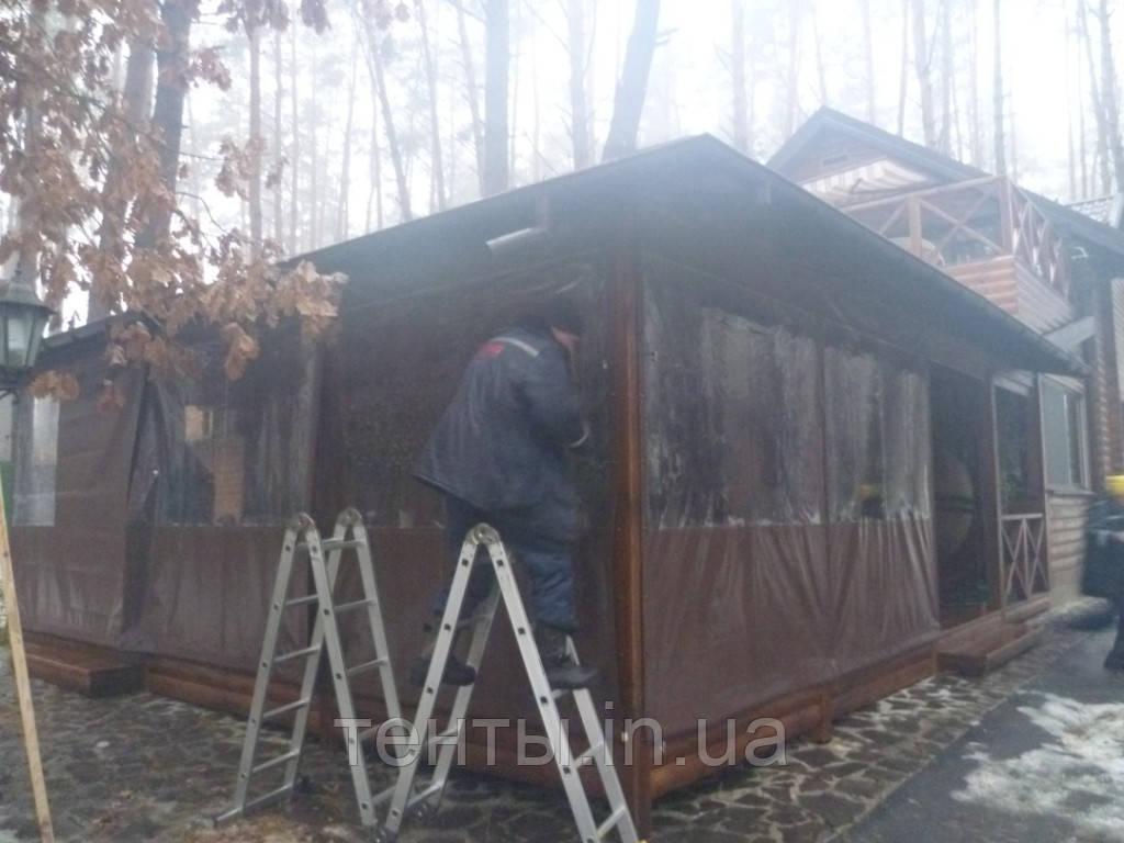 Тент літнього майданчика заміського комплексу, Білогородка