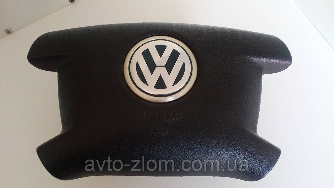 Подушка безопасности руля (AIRBAG) Volkswagen Transporter, T5. 7H0880201H.