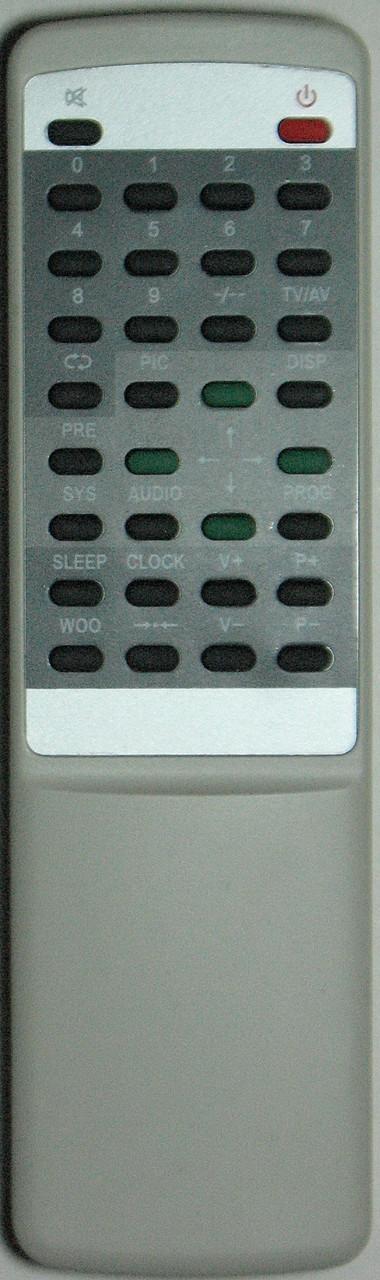 Пульт для телевизора AKIRA. Модель RY-2002