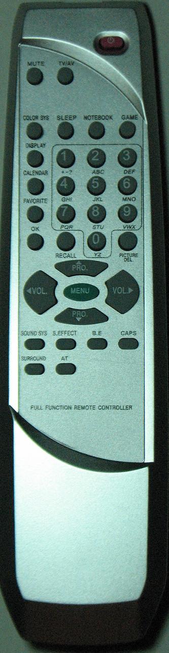 Пульт для телевизора AKAI/ POLAR/ TCL. Модель RC-W001