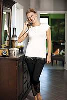 Костюм для дома и отдыха футболка и  леггинсы (лосины) Shirly 4905
