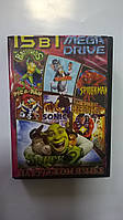MB1503 (15 In 1)Shrek 2 (New)/Spider - Man/Turtles Tournament Fighters/Street Of Rage 2/Tom & Jerry/Sonic Hedg