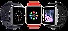 Умные часы Smart Watch Phone мужские GT08 Черный ремешок, фото 2