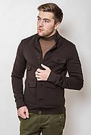 Куртка-ветровка с накладными карманами