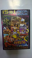 MB1507 (15 In 1)Naruto (New)/Comix Zone/X - Man 2 Clone Wars/Ninja Turtles Return/Dune:The Battle Fore For Arr