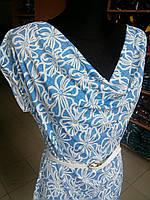 Летнее платье с узором Оливия 54