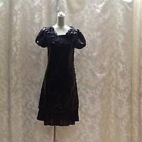 Платье черное в стиле Dolce&Gabbana, фото 1