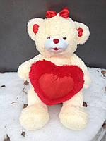 Мягкая игрушка Мишка с сердцем ,75см
