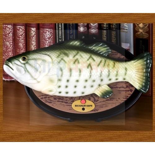 """Поющая и танцующая рыба """"Весёлый карп"""", фото 1"""