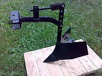 Окучник стреловидный з сцепкой до мотоблока, фото 1