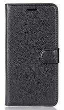 Кожаный чехол-книжка для Asus Zenfone 4 Max ZC554KL черный