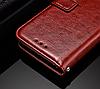 Кожаный чехол-книжка для Xiaomi Redmi 5A черный, фото 4