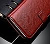 Кожаный чехол-книжка для Xiaomi Redmi 5A черный, фото 5
