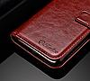 Кожаный чехол-книжка для Xiaomi Redmi Note 5A черный, фото 2