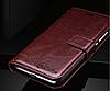 Кожаный чехол-книжка для Xiaomi Redmi Note 5A черный, фото 5