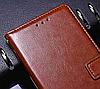 Кожаный чехол-книжка для Samsung Galaxy Note 9 коричневый, фото 3