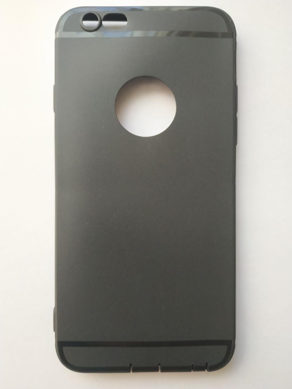 Стильный чехол бампер для iphone 6 6S черный