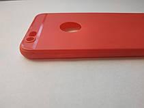 Стильный чехол бампер для iphone 6 6S красный, фото 2